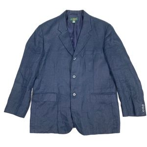J. Crew 100% Linen 3-Buttons L/S Blazer Jacket